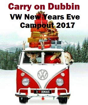 VW new years eve camp